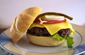 Cheeseburger Bun Kaiser