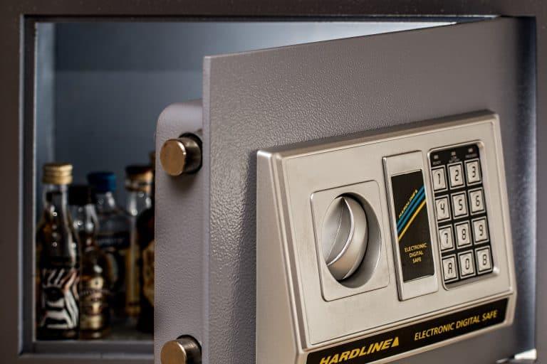 wall safe digital secure